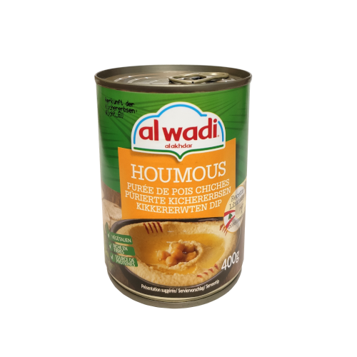 Al Wadi Hummus Ready to eat, Lebanon 400g