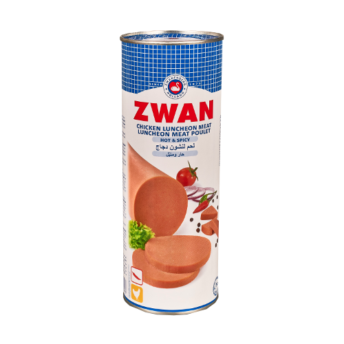 ZWAN Chicken Luncheon Scharf 850g - Halal