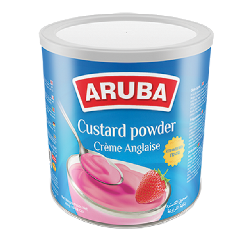 Aruba Custard/Pudding, Erdbeere 300g