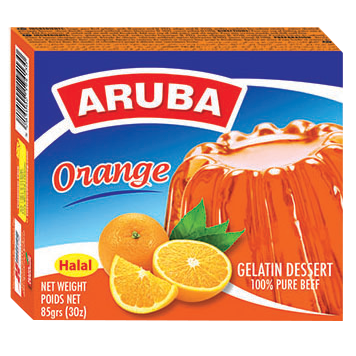 Aruba Jelly, Orange 85g